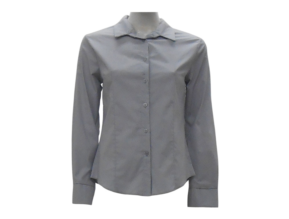 Grey Ladies Blouse