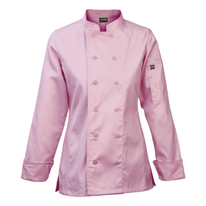 barron-ladies-long-sleeve-savona-chef-jacket-pink-