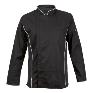 barron-siena-chef-jacket-bc-sie-black-&-white-