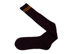 maroon-with-yellow-stripes-socks